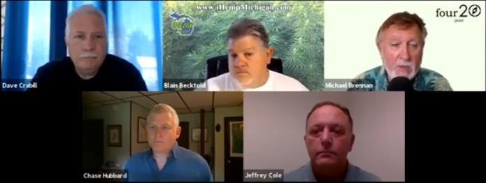 Chase Hubbard, The Jacobsen, Jeffrey Cole, US Hemp Brokerage