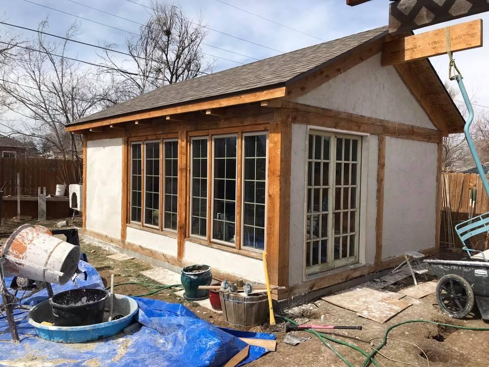 tiny hemp house photo