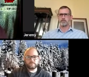 Jeremy Huffman and Dr. Adam Ingrao of HI Hemp Company discuss hemp farmers, insects in CBD, Veterans in agriculture and barriers to entry in hemp