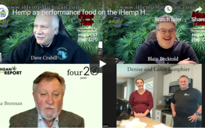 Lance and Denise Lamphier discuss using hemp as a performance food