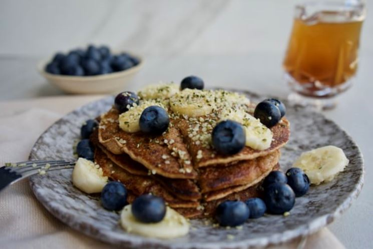 Hemp Heart Pancakes