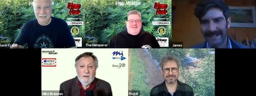 Roger Tambay of FILMORGANIC and James DeDecker, PhD of MSU joins us on the iHemp Hour