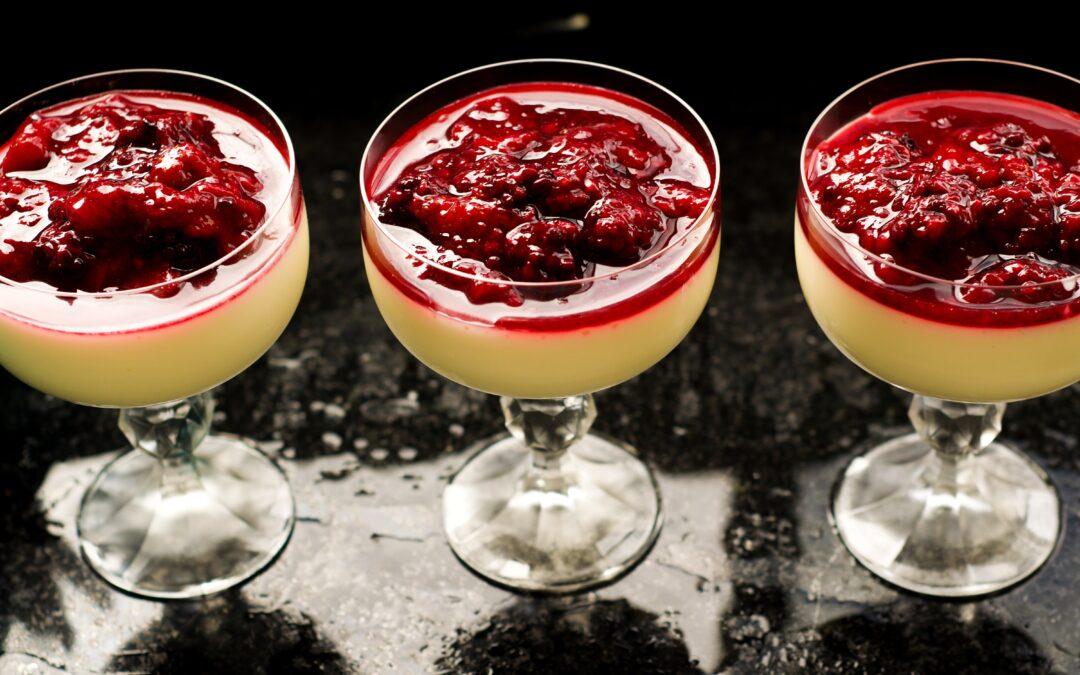 Banana & Berry Hemp Seed Pudding