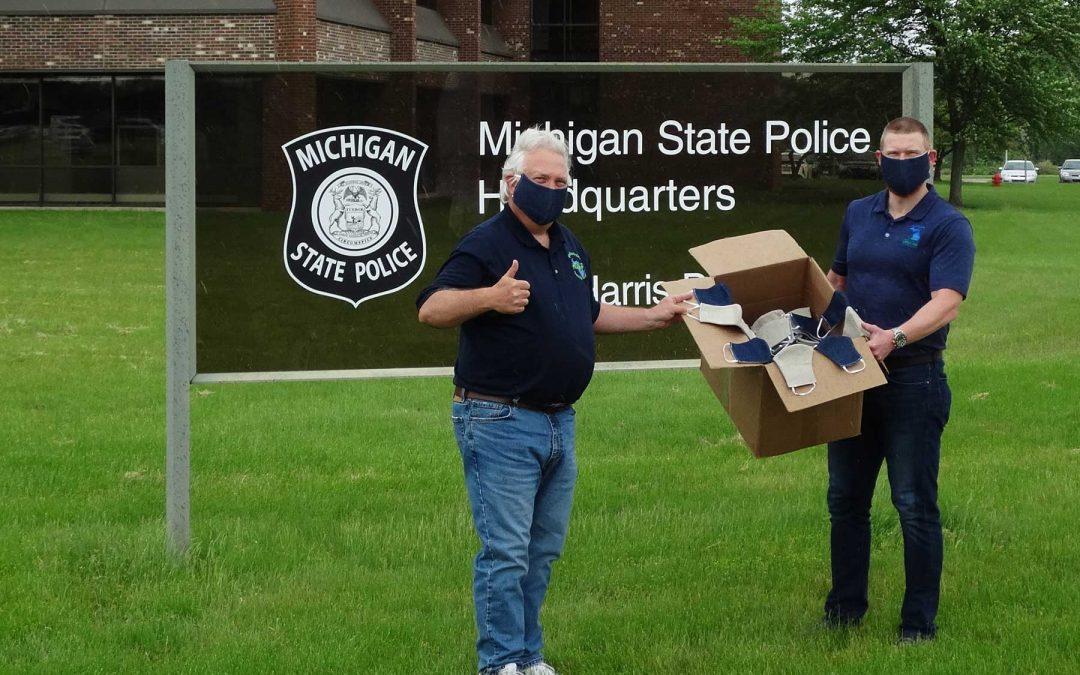 iHemp Michigan Donates Hemp Masks to MI State Workers