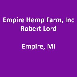 Empire Hemp Farm, Inc.