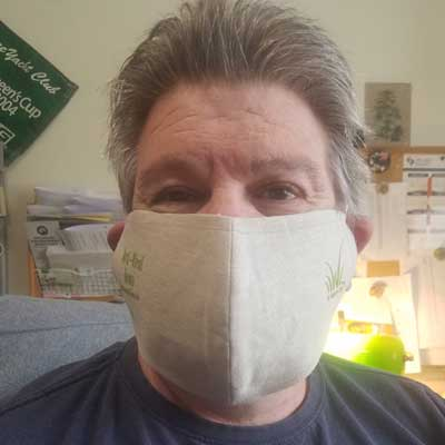 hemp face mask