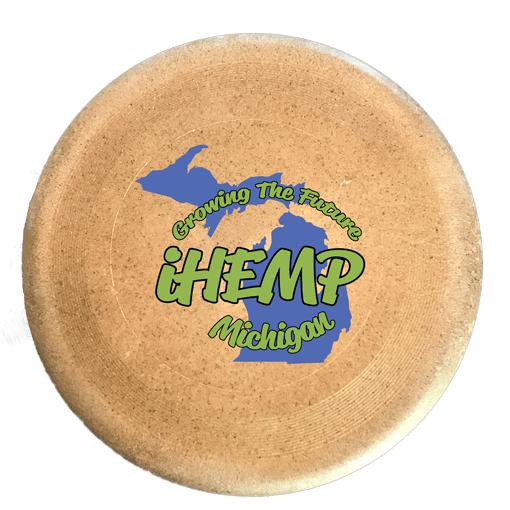 iHemp Michigan Hemp Fiber Frisbee