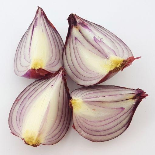 onions sliced
