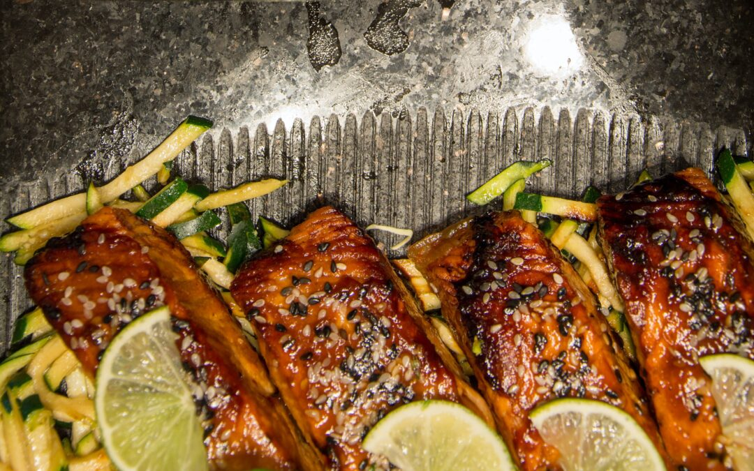 Honey-Garlic Glazed Salmon